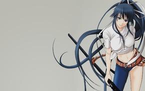 Kanzaki Kaori, dark hair, anime girls, To aru Majutsu no Index, anime