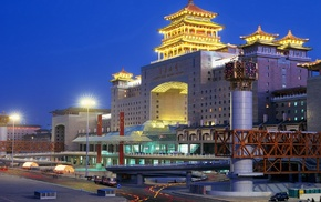 train station, Asia, Beijing, Public