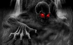 fantasy, skull, skeleton