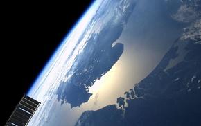 Earth, satellite