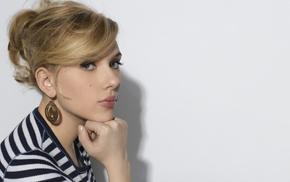 Scarlett Johansson, model, celebrity, girl
