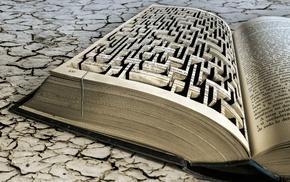books, mazes