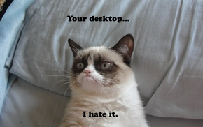 humor, Grumpy Cat, cat, anime, Random Access Memories