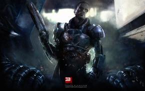 Commander Shepard, Mass Effect, Mass Effect 2, video games, Mass Effect 3