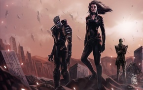 Garrus Vakarian, Mass Effect 3, Thane Krios, Mass Effect 2, Miranda Lawson, Mass Effect