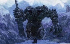 зима, фантастическое исскуство, фан-арт