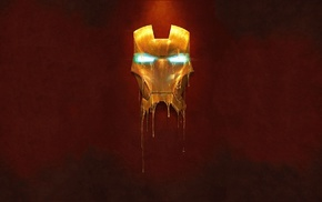 minimalism, Iron Man, mask