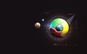 Google, Mozilla Firefox, minimalism, Google Chrome