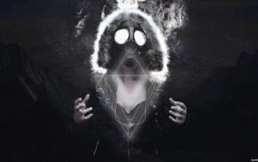 gasmasks music, Dast, music, Wallbase, gas masks, dubstep