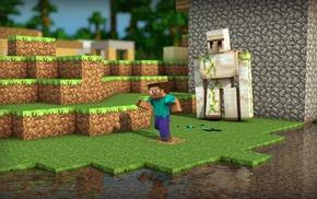 Minecraft, video games, Steve