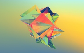 Justin Maller, geometry, abstract