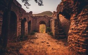 архитектура, руины, природа