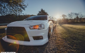 Mitsubishi Lancer Evo X, DAT3VO, Mitsubishi, evolution, Work Emotion XD, 9