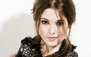 face, Ashley Greene, brunette, girl