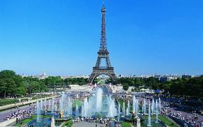 Eiffel Tower, cities, Paris