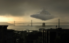 photo manipulation, Star Wars, bridge