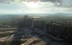 photo manipulation, Naboo, landscape, Star Wars