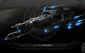 spaceship, Corvette, Aegis Dynamics, Robert Space Industries, Idris, Star Citizen