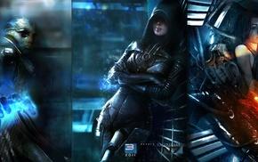 Mass Effect, Kasumi Goto, video games, Mass Effect 3, Miranda Lawson, Thane Krios
