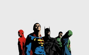 DC Comics, Batman, Superman, Green Lantern, The Flash
