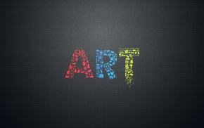 minimalism, simple background, typography, mosaic, black