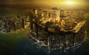 concept art, Deus Ex Human Revolution