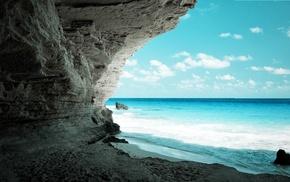 sea, nature
