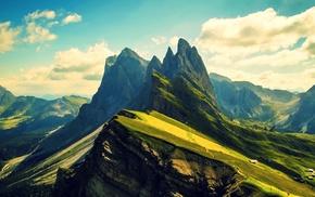 Dolomites mountains, mountain