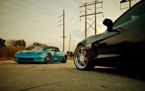 sports car, Corvette, car