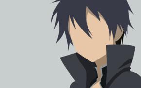 Sword Art Online, vectors, Kirigaya Kazuto, anime