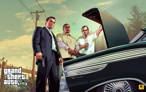 video games, Grand Theft Auto V, Grand Theft Auto