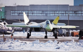 Sukhoi T, 50, jet fighter, Russia, stealth, airplane