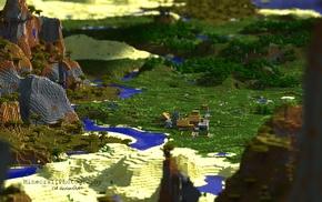 Minecraft, render