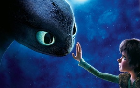 Hiccup, How to Train Your Dragon, Toothless