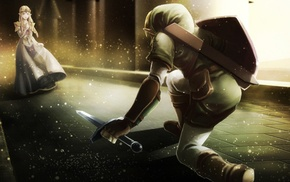 Link, Princess Zelda, The Legend of Zelda