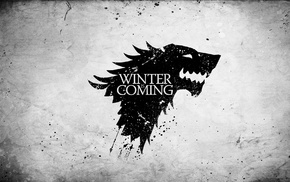 A Song of Ice and Fire, Game of Thrones, Winter Is Coming, sigils, House Stark