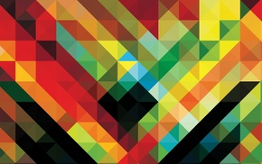 africa hitech, abstract, pattern, colorful, Andy Gilmore, geometry