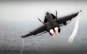 McDonnell Douglas FA, 18 Hornet, afterburner, airplane, jets