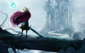 Child of Light, video games, Aurora