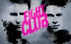 Fight Club, movies, Brad Pitt, Edward Norton