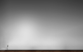 gray background, wall, minimalism