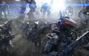 futuristic, robot, Titanfall