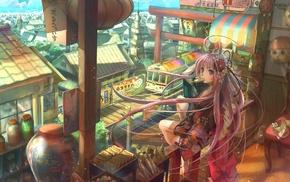 девушки из аниме, оригинальные персонажи
