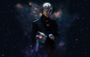футуризм, космос, вселенная