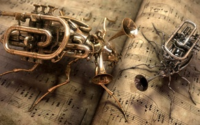 music, abstract