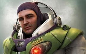 Toy Story, realistic, Buzz Lightyear