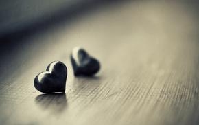 macro, love, heart