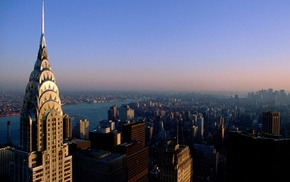 city, cityscape, USA, Chrysler Building, skyscraper, New York City