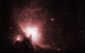 stars, space, nebula, Orion, space art