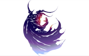 minimalism, simple background, Yoshitaka Amano, Final Fantasy, Final Fantasy IV